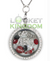 Arizona Football Charm Lockets