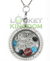 Carolina Football Charm Lockets