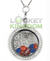 Denver Football Charm Necklace