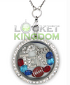 Tennessee Football Charm Lockets
