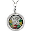 Infinity Love Oregon Football Locket