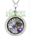 Infinity Love Rottweilers Charm Locket
