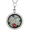 Seattle Football Charm Necklace
