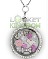 Infinity Love Shih Tzu Charm Locket