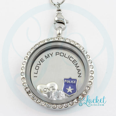 Love My Policeman Necklace