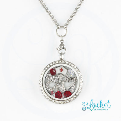 Infinity Love CNA Charm Locket