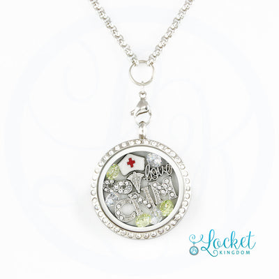 Infinity Love CNM Charm Locket
