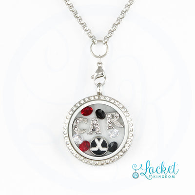 Infinity Love Carolina Hockey Locket