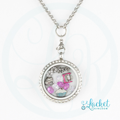 Infinity Love Cooking/Baking Charm Locket