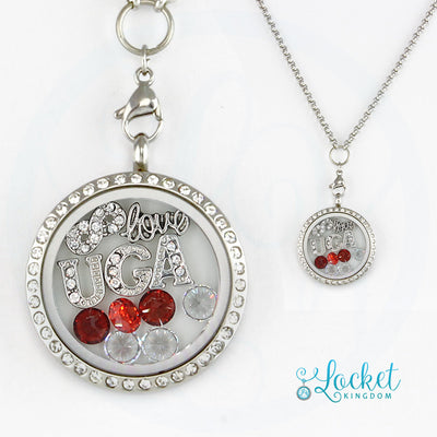 Infinity Love Georgia Locket