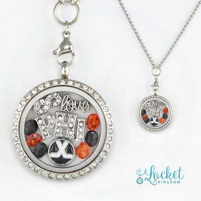 Infinity Love Philadelphia Hockey Locket