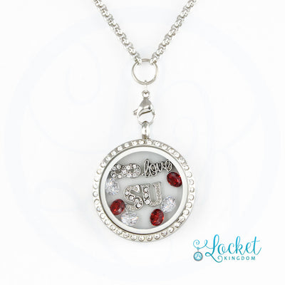 Infinity Love Stanford Charm Locket