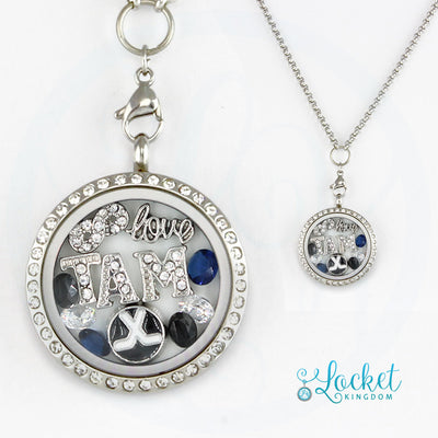 Infinity Love Tampa Bay Hockey Locket