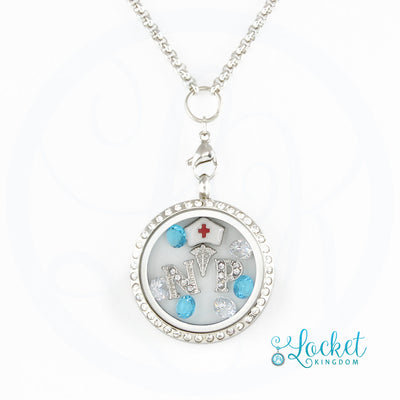 Nurse Practitioner Charm Locket