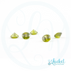 Olive-Crystal Stone - Set of 5