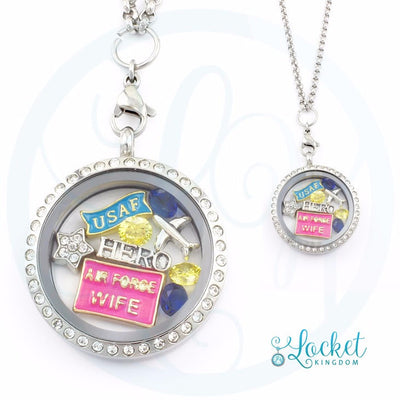 Air Force Wife Locket