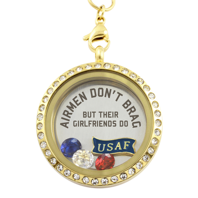 Airmen Girlfriends Brag Necklace