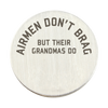 Air Force Grandmas Brag Backplate