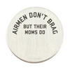 Air Force Moms Brag Backplate
