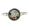 Green Bay Football Locket Bracelet