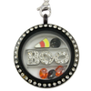 """BOO"" Halloween Charm Necklace"