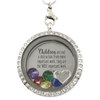 Children Are Most Important Work Charm Necklace