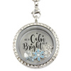 All is Calm, All is Bright Charm Necklace