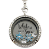 """White as Snow"" Christmas Charm Necklace"