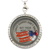 Coast Guard Moms Brag Charm Necklace