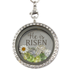 He is Risen! Charm Necklace