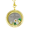 He is Risen Cross! Charm Necklace