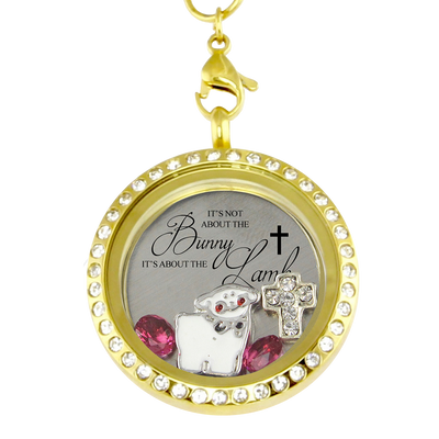 It's About the Lamb Easter Charm Necklace