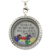 Education is the Most Powerful Weapon Charm Necklace