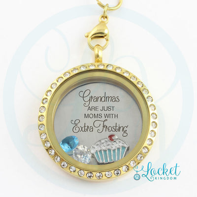 Grandma's Have Extra Frosting Locket