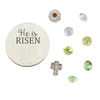 He is Risen Easter Charm Set
