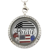 Home of the Brave Locket Necklace