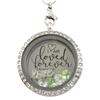Loved Forever Charm Locket