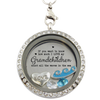 I Love My Grandchildren Like the Ocean Locket