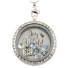"""Joy To The World"" Christmas Charm Necklace"