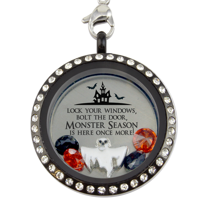 Monster Season! Halloween Charm Necklace