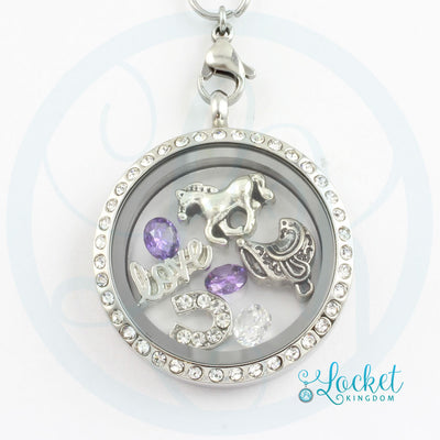 Love Horses Charm Locket