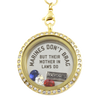 Marine Mother In Laws Brag Necklace