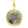 Married to My Hero Locket Necklace