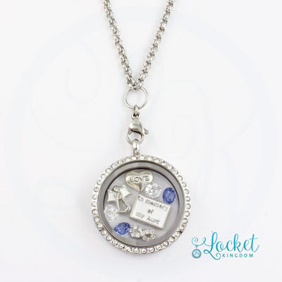 In Memory Of My Aunt Charm Locket