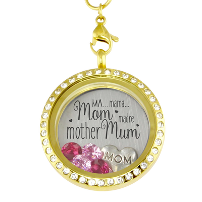 Mom's Many Names Locket