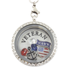 Navy Veteran Necklace