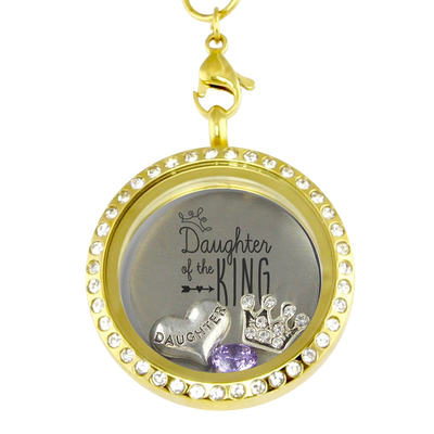Daughter Of The King Charm Locket
