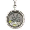 Nothing Is Impossible Charm Locket