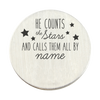 He Counts the Stars and Call Them By Name Backplate