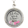 Do All In Love Floating Charm Locket
